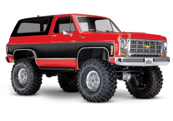 TRAXXAS TRX-4 Chevy Blazer 4x4 Rot RTR o. Akku/Lader 1/10 4WD Scale-Crawler Brushed