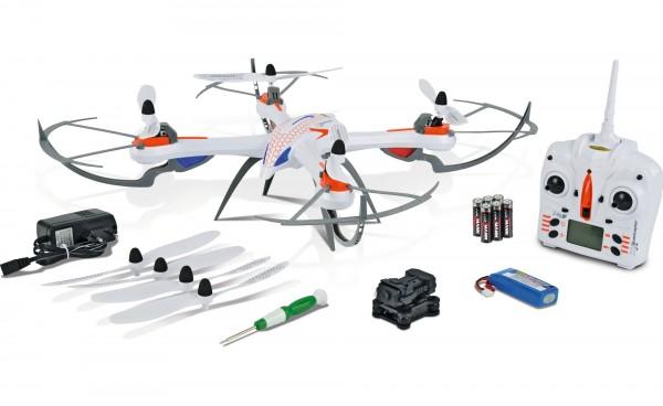 X4 Quadcopter 550, SPY, 2,4GHz, 100% RTF mit Kameramodul