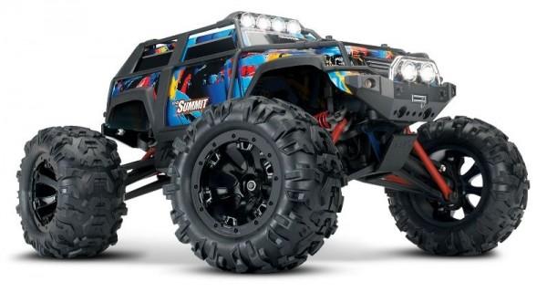 TRAXXAS Summit 4x4 RocknRoll RTR +12V-Lader+Akku 1/16 4WD Crawler Truck Brushed