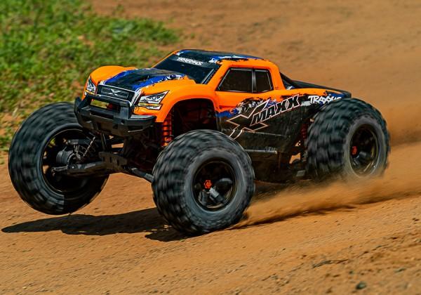 X-Maxx 8S RTR Orange Brushless waterproof +TSM E-Monster Truck TQi, 8S VXL +30Volt-Copy