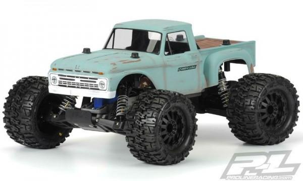 TRAXXAS Stampede Pro-Line 1966 Ford F-100 -4x4 RTR +12V-Lader+Akku 1/10 4WD Monster Truck Brushed