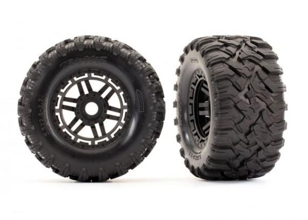 Reifen auf Felge montiert Felge schwarz Maxx All-Terrain