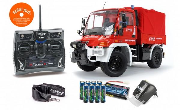 1:12 Unimog Feuerwehr 2,4 GHz 100% RTR