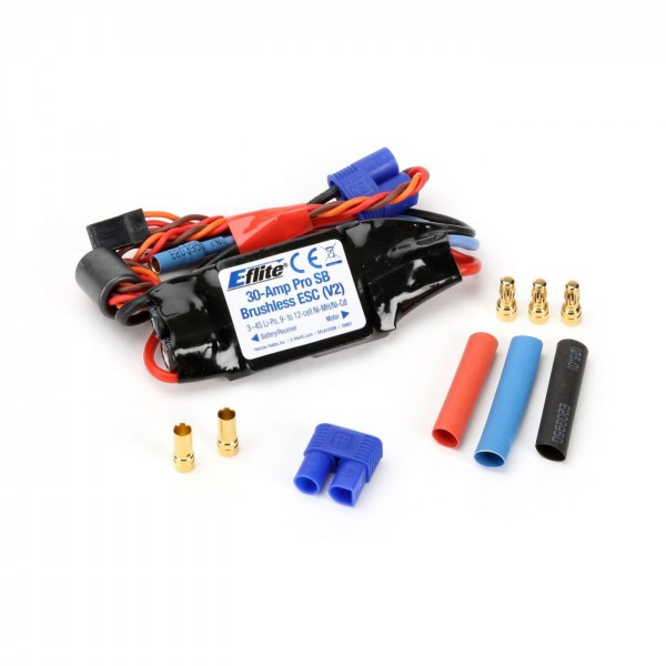 E-flite 30A Pro Switch-Mode BEC Brushless-Regler V2