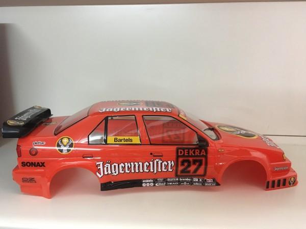 Tamiya Karosserie-Satz Alfa Romeo155 V6Ti Jägermeister lackiert und Beklebt