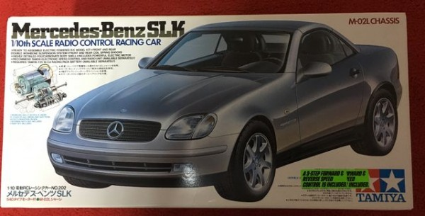 VINTAGE TAMIYA 1/10 Mercedes Benz SLK. SELTEN !