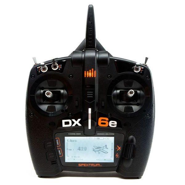 DX6e 6 Kanal Sender (ohne Empfänger)