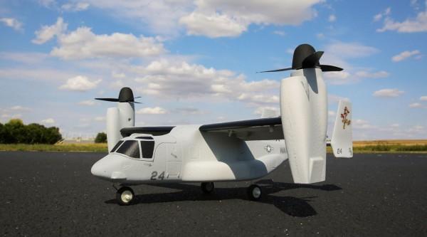 E.flite V-22 Osprey VTOL BNF Basic, 486mm