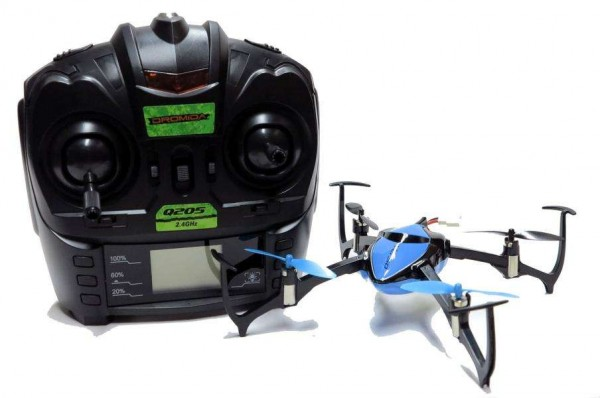 Dromida Verso Quadrocopter RTF-Blau mit 2 Flugakkus