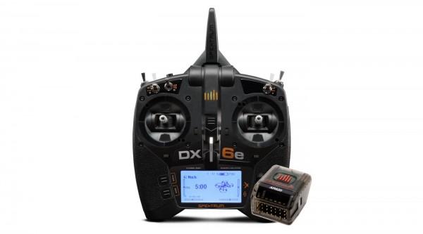 DX6e 6-Kanal Fernsteuerung mit AR620 Empfänger (SPM6655EU)