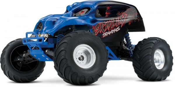 TRAXXAS Skully RTR +12V-Lader 1/10 Monster Truck (12T+XL-5)