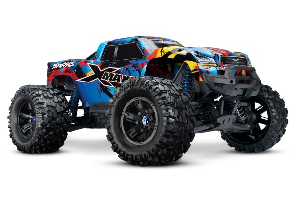 TRAXXAS X-Maxx 8S RTR Brushless waterproof +TSM E-Monster Truck TQi, 8S VXL +30Volt
