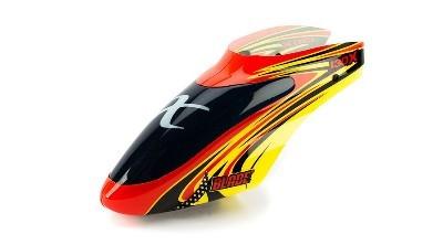 Red/ Yellow Kabinenhaube Blade 130 X.