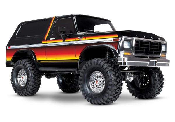 TRAXXAS TRX-4 Ford Bronco sunset 4x4 RTR ohne Akku/Lader 1/10 4WD Scale-Crawler Brushed