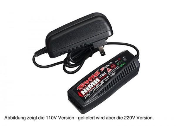 AC-Lader (230V) NiMH Peak-Abschaltung EU-Version 5-7 Zellen 6,0-8,4 Volt 2 Ampere (nur NiMH)