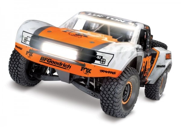 TRAXXAS Unlimited Desert Racer 4x4 VXL Fox-Edition RTR + LED 1/7 4WD Pro-Scale Race-Truck Brushless