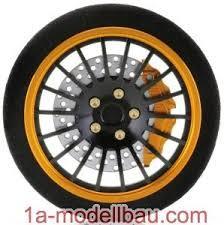 Ansmann Racing Lenkrad D3 Gold