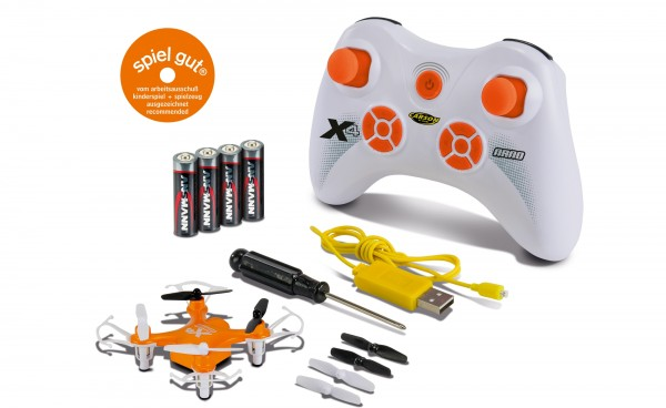 X4 Quadcopter NANO 100% RTF(orange)