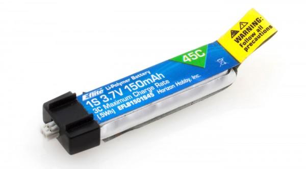 E-flite 1S 3,7V 150mAh 45C LiPo-Akku