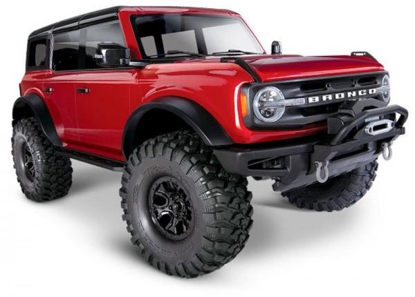 NEU TRAXXAS TRX-4 2021 Ford Bronco rot RTR o. Akku/Lader 1/10 4WD Scale-Crawler Brushe