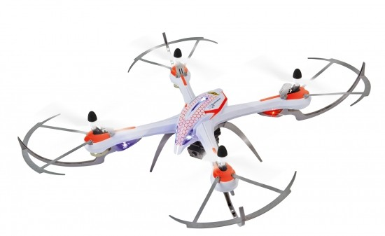 X4 Quadcopter 550, SPY, 2,4GHz, 100% RTF-Basic