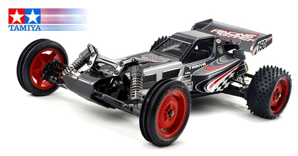 Tamiya 1:10 RC Rac. Fighter Black Chassis DT-03 KIT