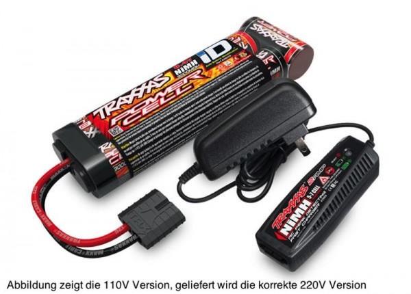 Akku/AC-Lader Completer Pack EU-Version (2969G & 2926X) 2 Ampere 230V Lader & 7Zellen NiMH 3000mAh A