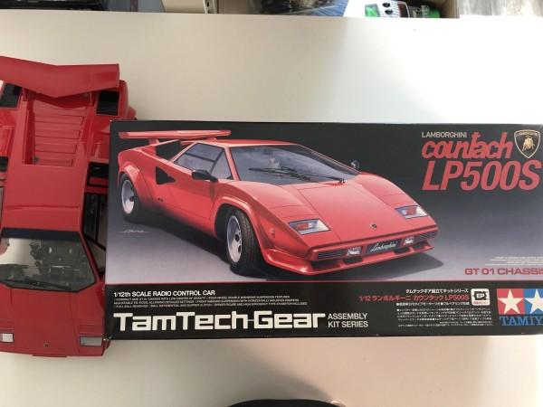 Lamborghini Countach LP500s Tamiya 57105
