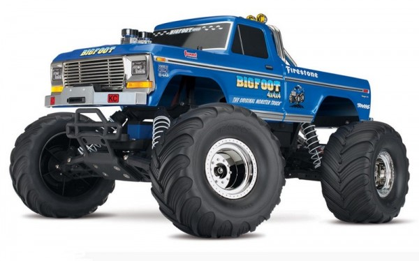TRAXXAS BIGFOOT No.1 RTR +12V-Lader 1/10 Monster Truck (12T+XL-5)