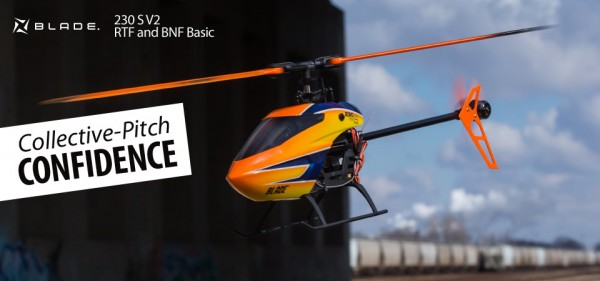 Blade 230 S V2 BNF Basic mit SAFE Technologie