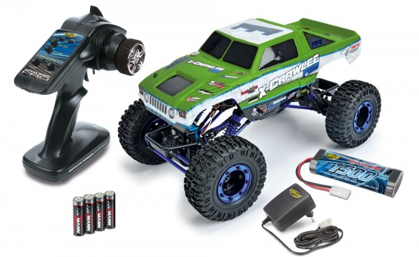 "1:10 XCrawlee 4WD 2,4 GHz 100% RTR ""Green Edition"""