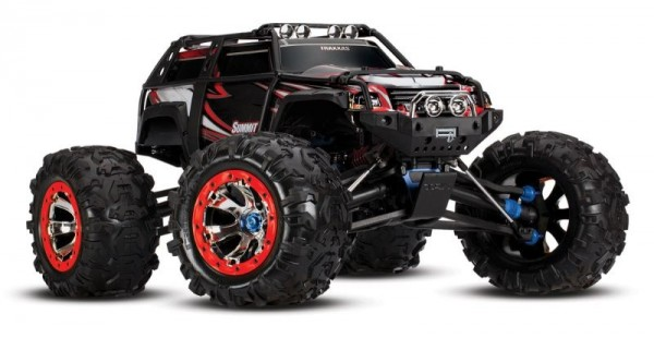 NEU TRAXXAS Summit schwarz RTR EVX2 ohne Akku/Lader Elektro-Allrad Crawler Truck Brushed