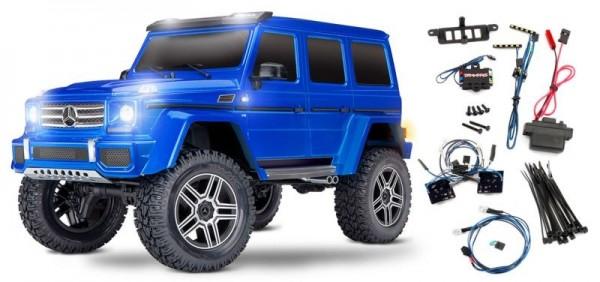 TRAXXAS TRX-4 Mercedes G 4x4² RTR ohne Akku/Lader 1/10 4WD LimitedVersion mit Lichtset