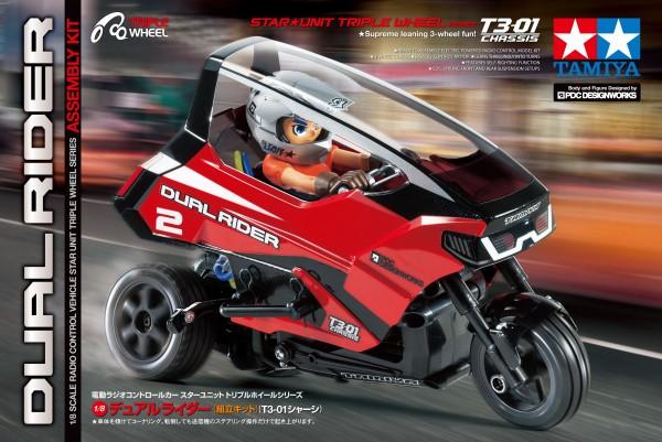 1:8 RC Dual Rider Trike T3-01