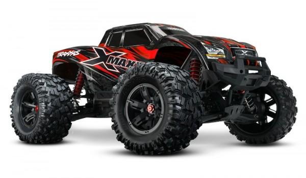 X-Maxx 8S RTR Brushless waterproof +TSM E-Monster Truck TQi, 8S VXL +30Volt