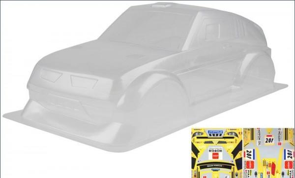 Karosserie 1:10 Mitsubishi Pajero EvoQRC unlackiert