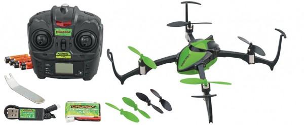Dromida Verso Quadrocopter RTF-Grün 2 Flugakkus