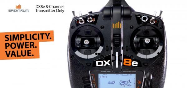 DX8e 8-Kanal Fernsteuerung, nur Sender (SPMR8105EU)