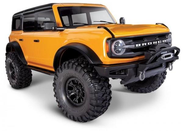 NEU TRAXXAS TRX-4 2021 Ford Bronco orange RTR o. Akku/Lader 1/10 4WD Scale-Crawler Brushed