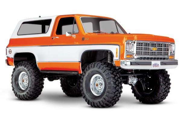 TRAXXAS TRX-4 Chevy Blazer 4x4 orange RTR o. Akku/Lader 1/10 4WD Scale-Crawler Brushed