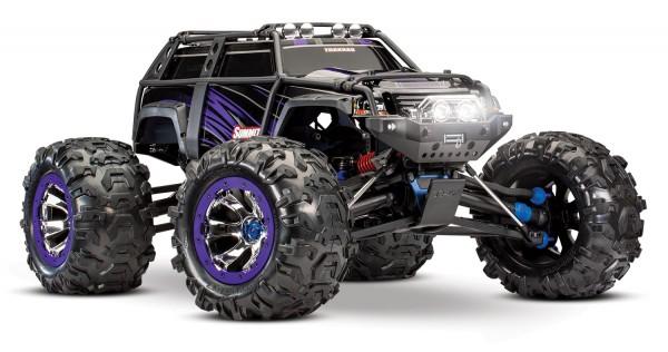 NEU TRAXXAS Summit purple RTR EVX2 ohne Akku/Lader Elektro-Allrad Crawler Truck Brushed-