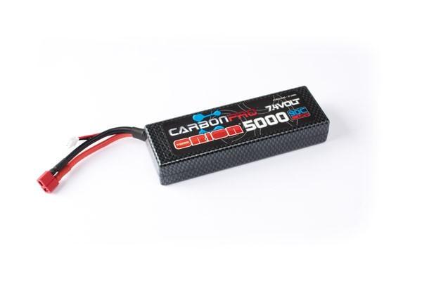 Carbon Pro 5000mAh 90C 7.4V Deans