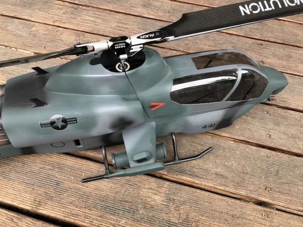 Rumpf T-REX 500 GFK AH-1 Cobra + Scale Fuselage