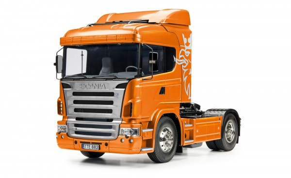 1:14 RC Scania R470 4x2 Orange metallic vorlackiert